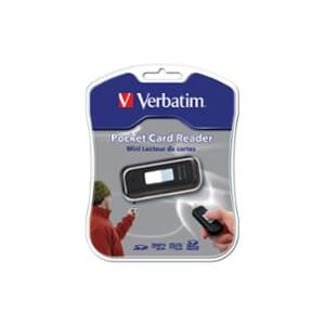 VERBATIM 97709 USB MINI SD KORTLESER