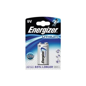 ENERGIZER ULTIMATE LITHIUM BATTERIER 9V