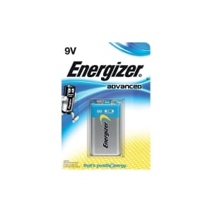 ENERGIZER ALKALINE ADVANCED BATT 9V