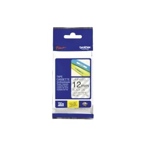 BROTHER TZE-131 TEKSTTAPE 12MM SORT/KLAR