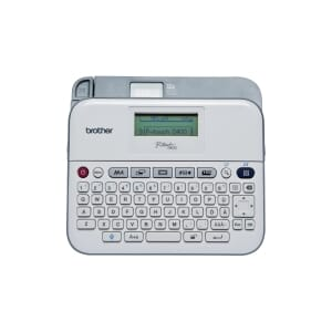 BROTHER PTD400 P-TOUCH MERKEMASK. QWERTY