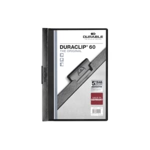 DURACLIP 2209 UNIVERSALMAPPE SORT 6MM