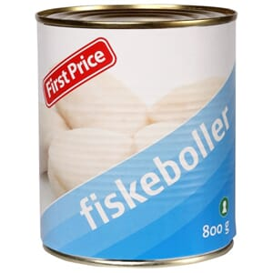 FIRST PRICE FISKEBOLLER I KRAFT 800G