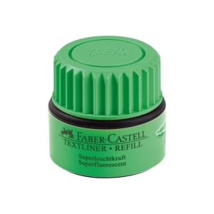 FABER-CASTELL HIGHLIGHTER REFILL GRØNN