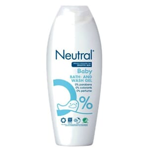 NEUTRAL BABY BATH&WASH GEL 250ML