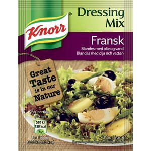 KNORR DRESSING MIX FRANSK 3POS