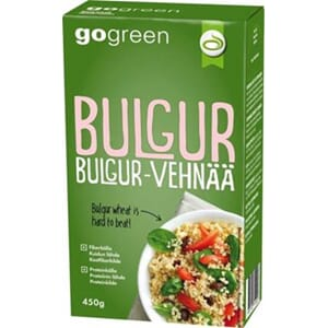 GO GREEN BULGUR 450G