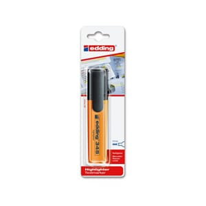 TEKSTMARKER EDDING 345 ORANGE 305051