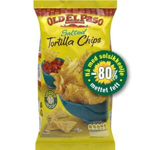 OLD EL PASO TORTILLA CHIPS SALTED 185G