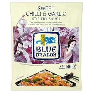 BLUE DRAGON WOKSAUS SWEET CHILI 120G