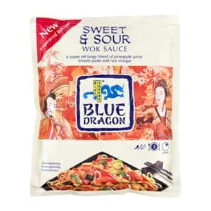 BLUE DRAGON WOKSAUS SWEET & SOUR 120G