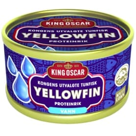 KING OSCAR TUNFISK YELLOWFIN I VANN 85G