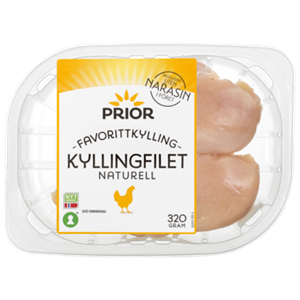 PRIOR KYLLINGFILET U/NARASIN 320G