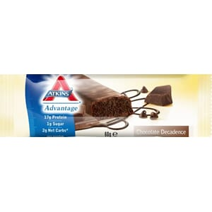 ATKINS BAR CHOCOLATE DECADENCE 60G