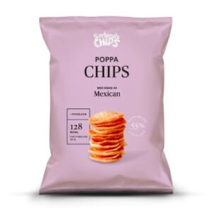 SØRLANDS POPPA CHIPS MEXICAN 75G