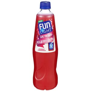 FUN LIGHT RED BERRY CRUSH 0,8L
