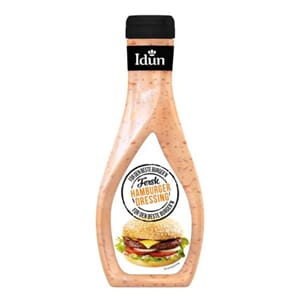 IDUN DRESSING FERSK HAMBURGER 252G