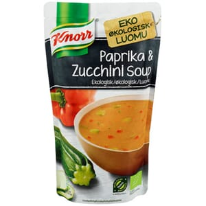 KNORR PAPRIKA ZUCCHINI ØKOLOGISK SUPPE 570ML