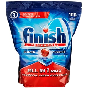FINISH ALL-IN-1 POWERBALL 100STK