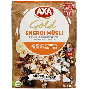 AXA GOLD ENERGY MUSLI 675G
