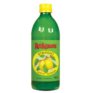 REALEMON SITRONSAFT 500ML