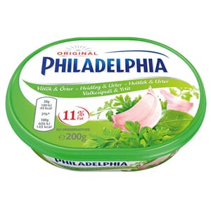 PHILADELPHIA LIGHT HVITLØK 200G