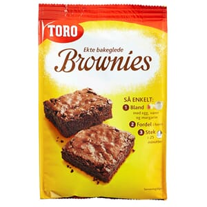 TORO BROWNIES MIX 530G