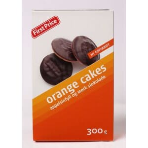FIRST PRICE ORANGE CAKES 300G