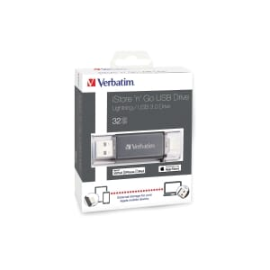 VERBATIM ISTORE 'N' GO USB3.0 LIGHT 32GB